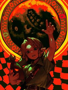 Legend of Zelda Majora's Mask The Legend Of Zelda, Legend Of Zelda Memes, Legend Of Zelda Breath, Manga Anime, Cry Anime, Breath Of The Wild, Majora Mask, Link Art, Girls Anime