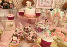 Chá de bonecas reúne melhores amigas em festa divertida