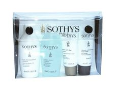 Sothys Anti-Age Grade 3 Trial Kit by Sothys. $19.65. Sothys Anti-Age Grade 3 Trial Kit provides everything for beautiful, healthy, youthful looking skin. The cleanser elimates makeup and impurities, the skin lotion tones the skin, the anti-aging cream helps skin appear lifted and firmer while smoothing out wrinkles, and  the lifting serum targets deeper wrinkles and ploss of firmness that  appear in your 50s.Kit Contains: Soothing Beauty Milk, 1.35 oz  Soothing ...