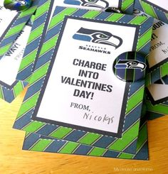 No-candy SeahawksValentine's -  My House and Home