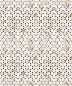 Shell Tile Pattern Vinyl Self Adhesive Peel-Stick Wallpaper no-636