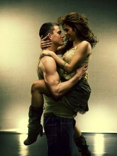 Step up Part 1- Channing Tatum and Jenna Dewan met on this movie set.  Love the way he loves her.