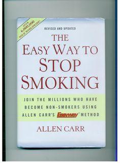 Mayo 2012. Es fácil dejar de fumar si sabes cómo. Allen Car. Gracias este libro dejé de furmar, de una vez por todas. Click en el link para descargar el libro en formato pdf.