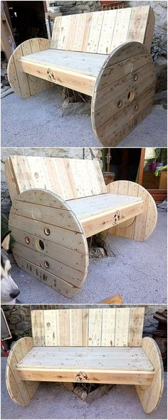Must have a sofa wooden pallet as elegant and unique to give grace to your place. The headboard is designed in a fantastic, sexy and powerful style. This project makes your place excellent. His sensible and recommendable job is done. Wooden Pallet Beds, Pallet Decking, Pallet Sofa, Outdoor Pallet Projects, Pallet Crafts, Pallet Ideas, Used Pallets, Recycled Pallets, 1001 Pallets