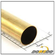Decorative Round Brass Tubes, Round Decorative Brass Tubing, Standard ASTM JIS ASME AISI EN BS Round Brass Tubes