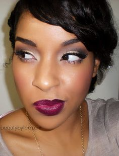 Wet N' Wild 908c/ Sugar Plum Fairy, c/o Beauty By Lee: Romantic Holiday Makeup Tutorial