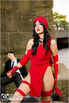 Drakaina as Elektra. May 30, 2015.