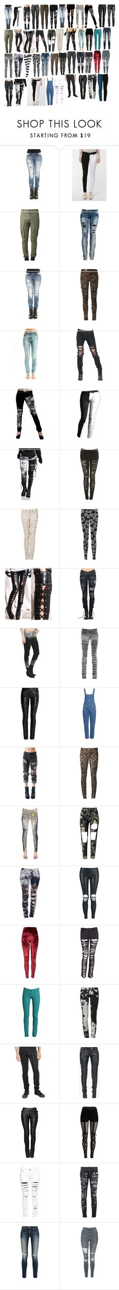 """""""Girl Pants 18"""" by spellcasters ❤ liked on Polyvore featuring Hot Topic, Tripp, Pepe Jeans London, Jena.Theo, Christopher Kane, INDIE HAIR, Vision, PlayMe Jeans, Yves Saint Laurent and M.i.h Jeans"""