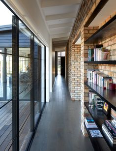 A lifetime of travel, laughter and love was channelled into this new black-clad home, which was the realisation of a lifelong dream for a busy city dweller Entryway Chandelier, Clad Home, Recycled Brick, Busy City, New York Style, Rural Area, New Builds, Tuscany, House Tours