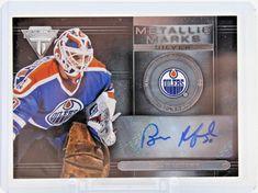 Bill Ranford MM-73 Panini Metallic Marks Silver Auto Autographed Signed Oilers #EdmontonOilers