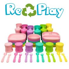 Bowls & Plates Baby Re-play Teether Keys Fda Approved Bpa Free Recycled Plastics Baby Teething Consumers First