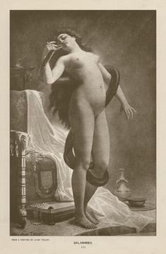 Salammbo~Jules Jean Baptiste Toulot