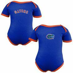 Florida Gators Infant Two-Pack Embroidered Creeper Set - Royal Blue