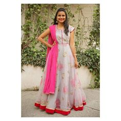 Mother Daughter Matching Outfits, Long Gown Dress, Stylish Sarees, Ethnic Dress, Western Dresses, Work Blouse, Indian Ethnic, Ethnic Fashion, Anarkali