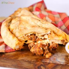 Mario Batali's Meat Lover's #Calzone! #TheChew