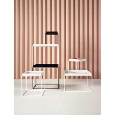 Tray Table bord 60x60, hvit i gruppen Møbler / Bord / Sofabord hos ROOM21.no (103858)