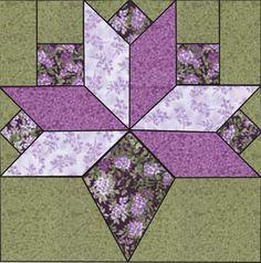 cornucopia quilt pattern block