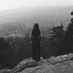 Lonely Woman Precipice