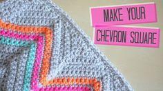 CROCHET: How to get straight edges on chevron blanket   Bella Coco