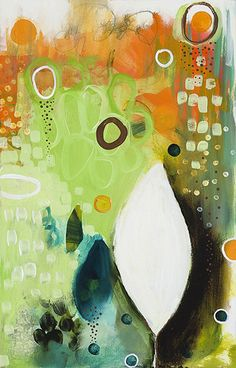 The work instantly draws your eye in and mesmerises with its pattern and colour. One and Only by Flora Bowley