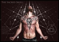 Working with sacred geometry is always a blessing to me. It is meditative, calming and it builds perfect focus for all my work. The Sacred Skull tattoo Piercings, Tattoo Now, Nordic Tattoo, Inked Magazine, Dot Work Tattoo, Custom Tattoo, Chest Tattoo, Body Modifications, Nordic Style