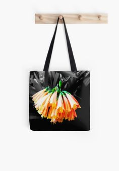 'Clivia Cluster' Tote Bag by Moonshine Paradise  #redbubble #flower #nature #photography #bags