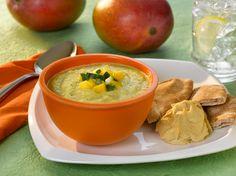 Fruits & Veggies More Matters : Mango Cucumber Soup Recipe : Health Benefits of Fruits & Vegetables