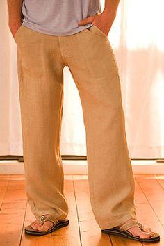 Hemp Pants - They look really comfortable. - $78