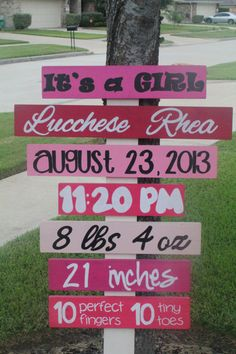 Custom Birth Announcement/Baby on Etsy, $70.00  I am digging that name!