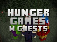 Minecraft Hunger Games - Round 4 - Different map /w Guests!