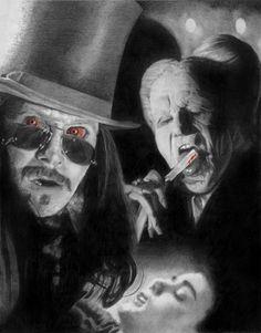 ileina.net | Portraits von Mensch und Tier | Viktoria Lederbauer   Erster Platz im Wettbewerb The Blood is the Life Gary Oldman in Bram Stoker's Dracula.  September 2012  Bleistift  Bristolboard 20 x 26cm