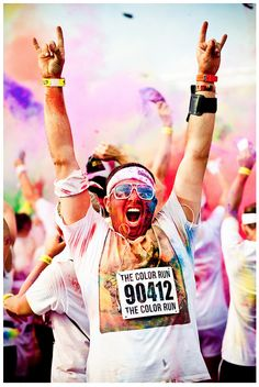 Rock on, Color Runner! #TheColorRun