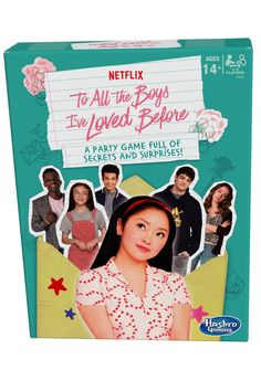 Hasbro teamed up with Netflix to create a new party game inspired by To All the Boys I've Loved Before ahead of the movie's sequel's release. Movie Sequels, Movie Characters, Movies, I Still Love You, My Love, Take A Quiz, Person Drawing, Fun Party Games, Films