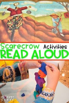 Scarecrow themed lesson plans! Scarecrow by Cynthia Rylant is a great book for fall. Read aloud and comprehension lessons, crafts, STEM, and center activities that your kindergarten and first-grade students. Your kids will love these ideas!