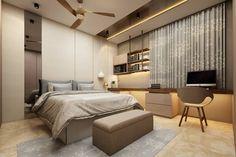 Bedroom Ceiling, Bed Design, Home Interior Design, Architecture Design, Minimalist, Bed Room, Elegant, Wall, Modern