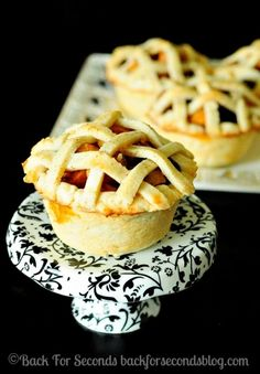 Easy Homemade Mini Apple Pies
