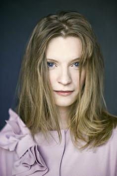 Polish actress Agata Buzek