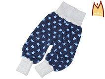 Sweat Pumphose *Sterne dunkelblau-hellblau*  www.bysam.de