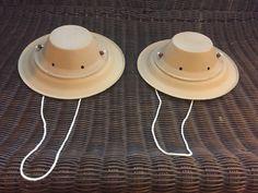 Diy safari jungle theme party hats