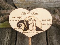 Unique Gifts For Couples, Couple Gifts, Fall Wedding, Wedding Decor, Wedding Ideas, Nightmare Before Christmas Decorations, Wedding Painting, Surprise Wedding, Anniversary Dates
