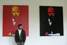 red Lenin black Lenin ANDY WARHOL. www.ipclub.fr