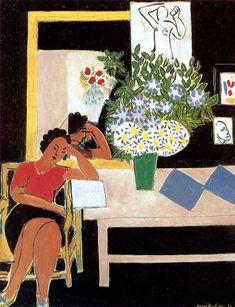 ALONGTIMEALONE: artist-matisse: The Red Table, 1939, Henri Matisse