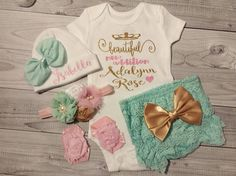 Baby Girl Coming Home Outfit Baby Girl Clothes