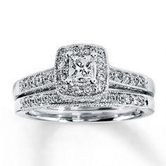 Diamond Bridal Set $810