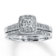 Diamond Bridal Set $810
