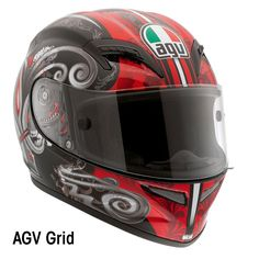 AGV Grid   http://www.allaboutbikes.com/motorcycle-news/industry-news/6736-agv-2012-helmet-collection  #motorcycle #helmet
