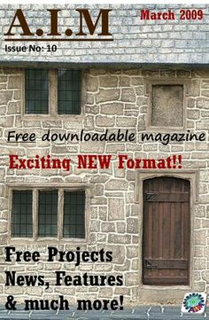Free downloadable online magazine all about miniatures.