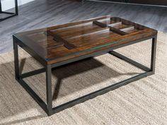 Blue Ridge Casual Cherry Wood Coffee Table Set