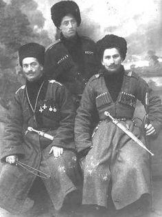 Ingush troopers ~ White Army