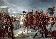 Napoléon à Augsburg le 9 octobre 1805 par Pierre Gautherot (1769-1825)
